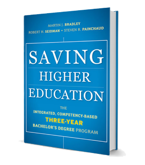 Saving Higher Education | 3-Year Degree Book
